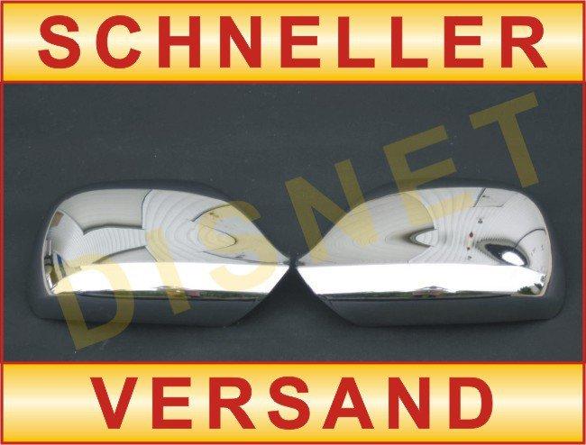 VW AMAROK 10-2010 CHROM SPIEGELKAPPE SPIEGEL ABDECKUNG RECHTS LINKS SATZ NEU